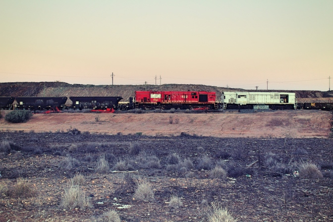Broken Hill train