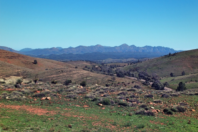 Flinders Ranges views