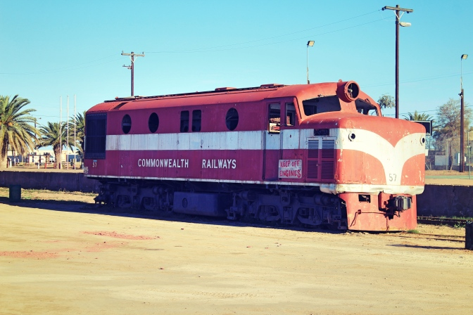 Vintage train of Commonwealth Railways, Maree