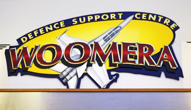 Woomera Defence Support Centre logo, South Australia