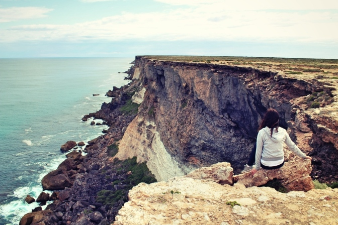 Cliff, South Australian Bight