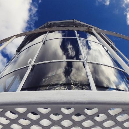 Lighthouse light, Rottnest Island, Western Australia