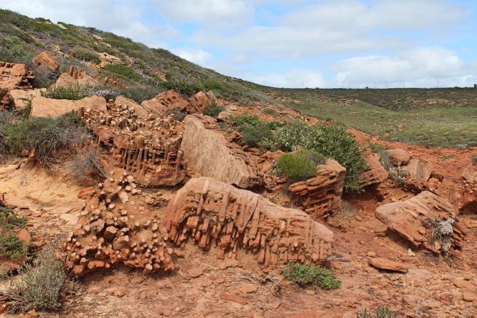 Tube rocks, Kalbarri, Western Australia