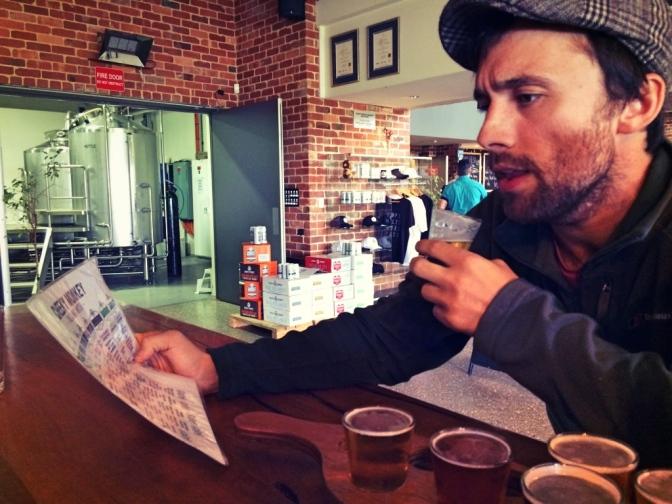 Beer tasting, Cheeky Monkey, Western Australia