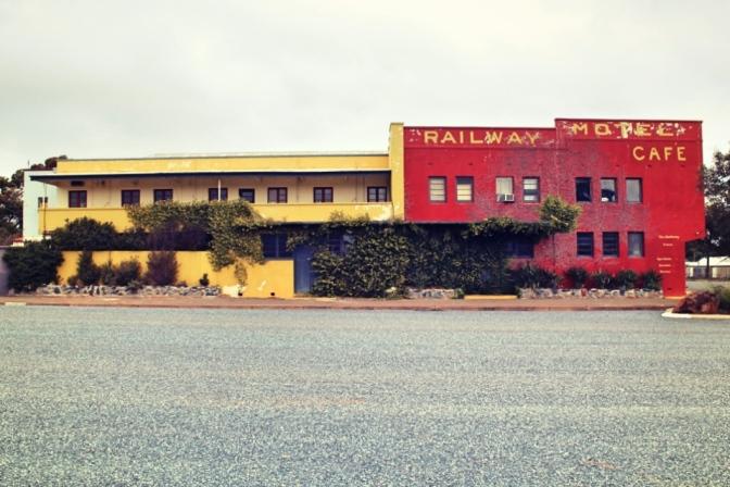 Derelict building, Norseman, Western Australia