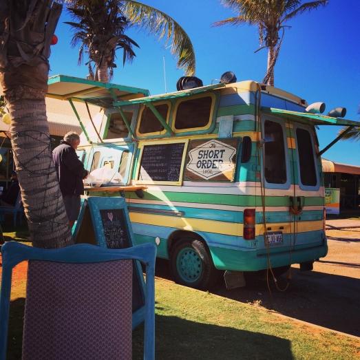Coffee van, Exmouth, Western Australia