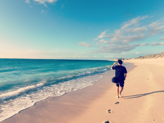 Turquoise Beach, Cape Range National Park WA