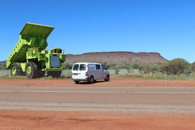 Mining truck, Parabadoo, Western Australia