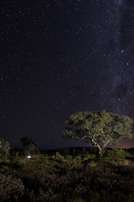 Karajini by night, Western Australia