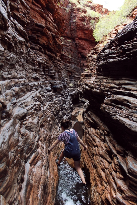 Spiderwalk, Karijini National Park, Western Australia
