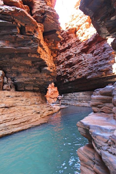 Kermit's Pool, Karijini National Park, Western Australia