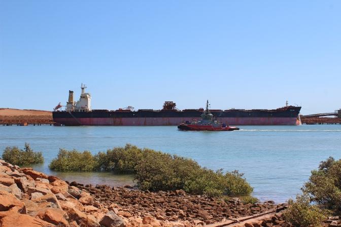 Cargo ships, Port Hedland, Western Australia