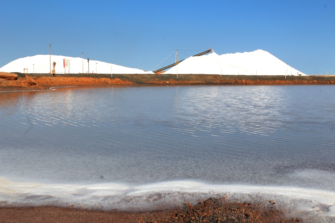 Salt mine, Port Hedland, Western Australia