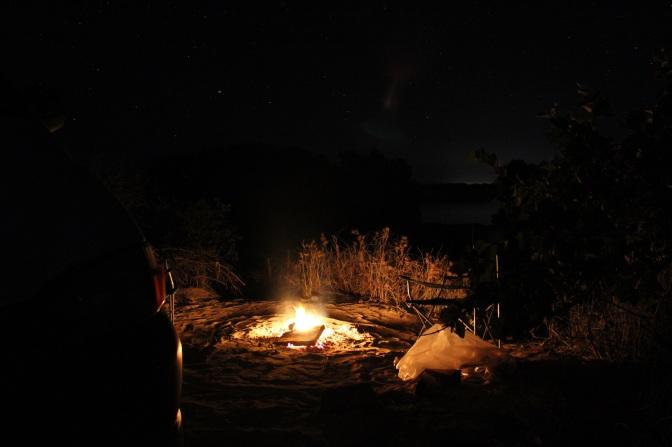 Campfire, Willie Creek Pearl Farm, Western Australia