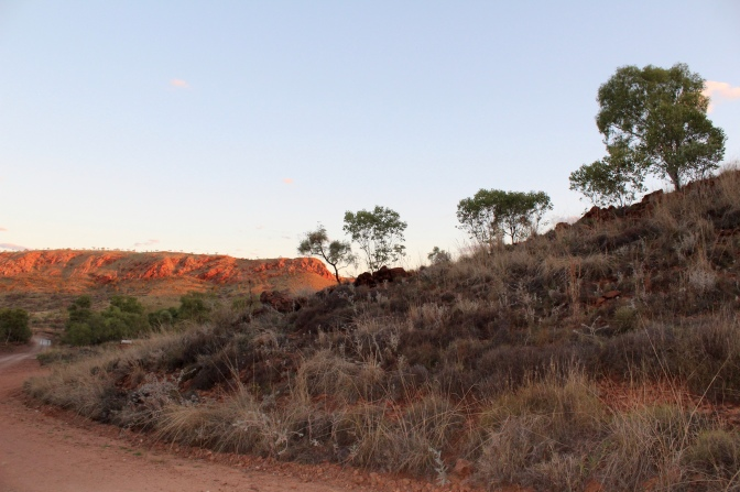Sunset, Kimberley, Halls Creek, Western Australia