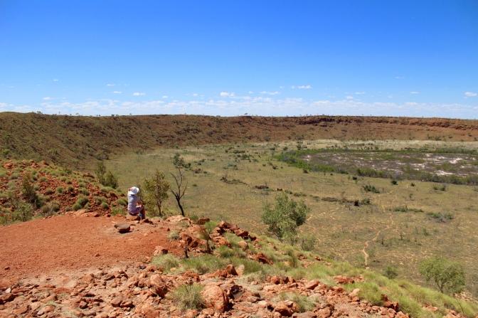 Wolfe Creek meteorite crater, Western Australia
