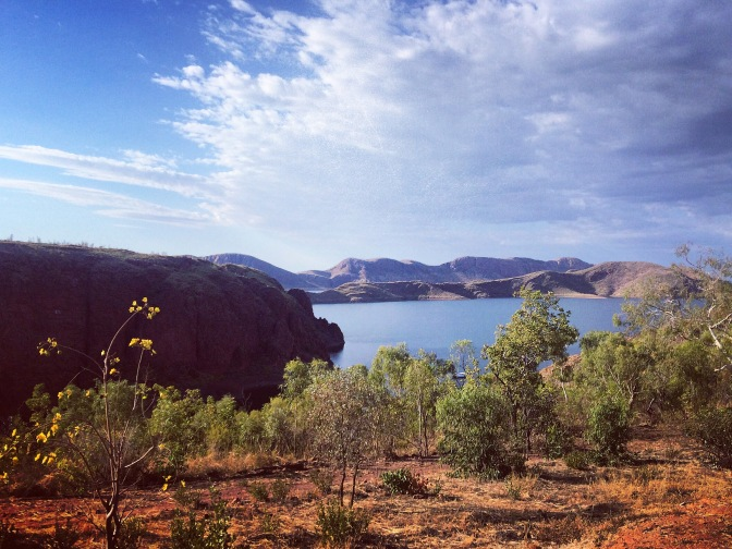 Lake Argyle views, Kununurra, Western Australia