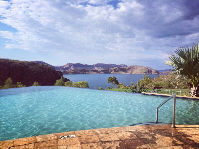 Pool at Lake Argyle Resort, Kununurra Western Australia