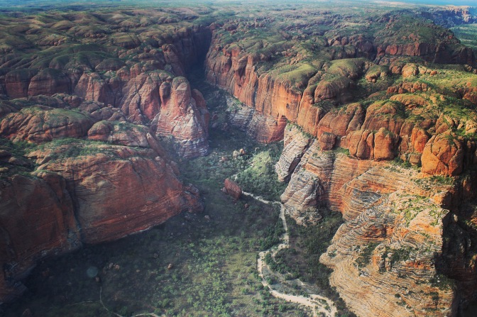 Gorges in Purnululu National Park, Western Australia