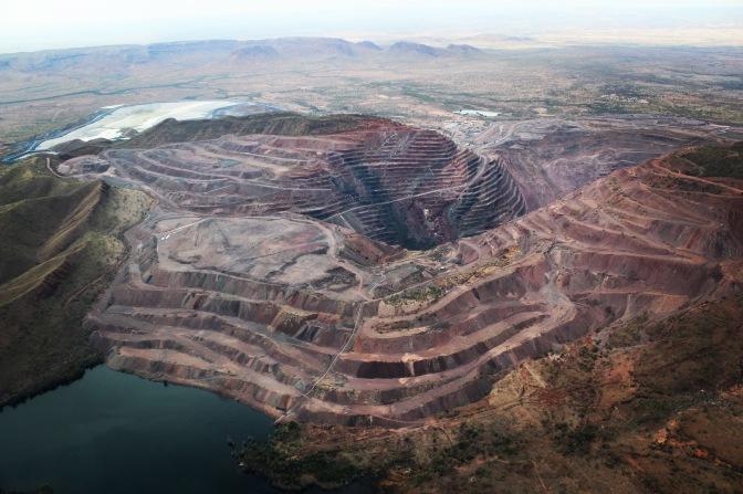 Argyle Diamond Mine, Kununurra, Western Australia