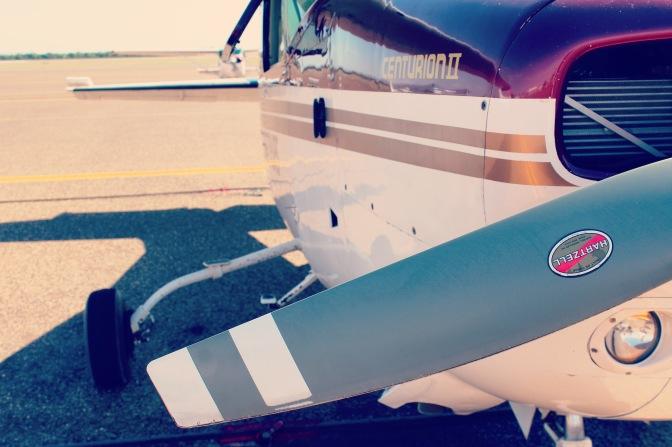 Cessna centurion plane, Kununurra Western Australia