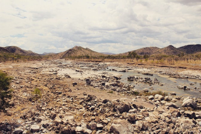 Rocky view of Kimberleys, Kununurra, Western Australia
