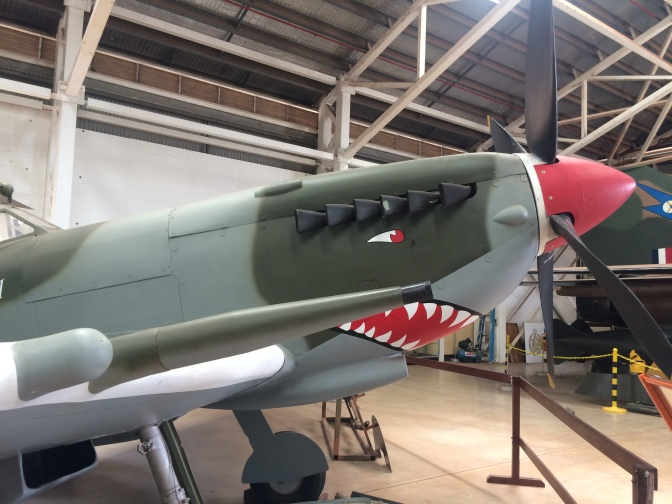 Fighter plane at Darwin aircraft museum, Northern Territory