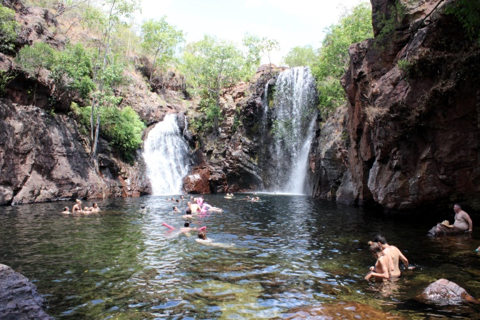 Swimming hole, Litchfield National Park, Northern Territory