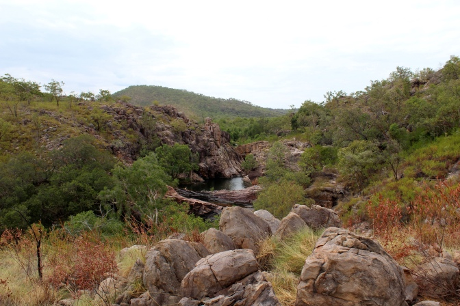 Rock pool at Gunlom, Kakadu National Park, Northern Territory