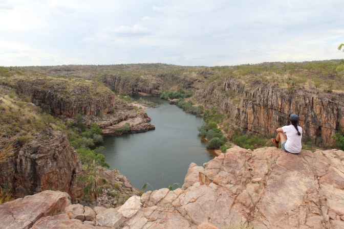 Looking across Katherine Gorge, Katherine Northern Territory