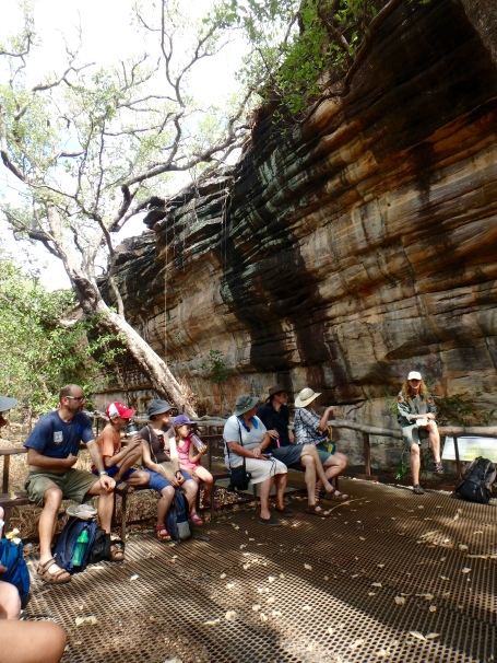 Tour group at Ubirr, Kakadu National Park, Northern Territory