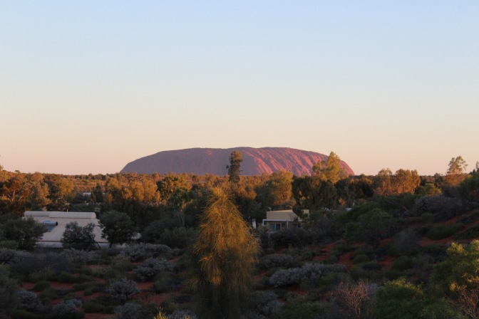 Uluru sunset Northern Territory
