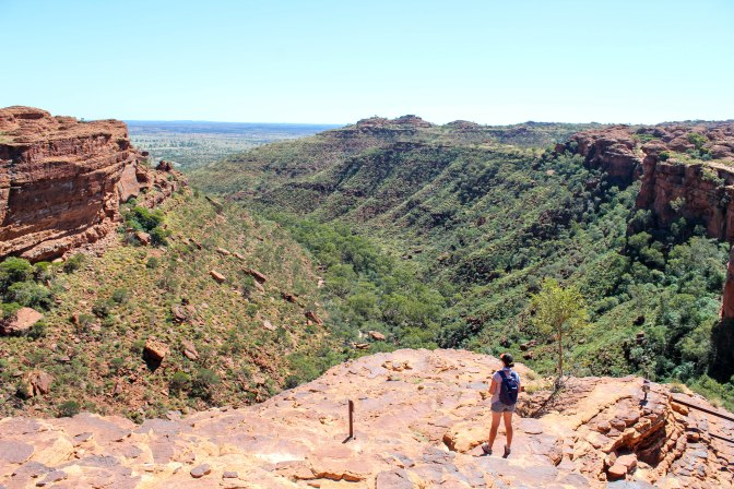 King's Canyon lookout, Red Centre, Northern Territory, Australia