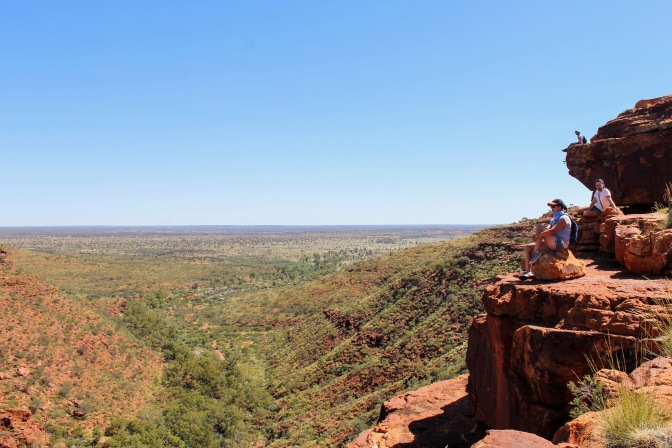 King's Canyon valley, Red Centre, Northern Territory, Australia