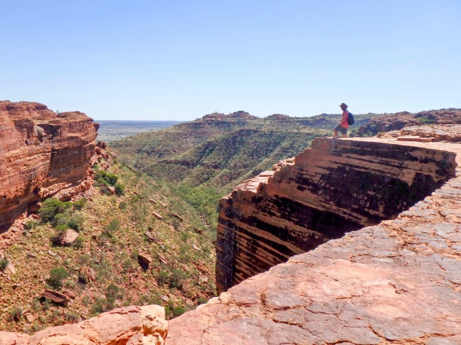 King's Canyon lookout, Northern Territory, Australia