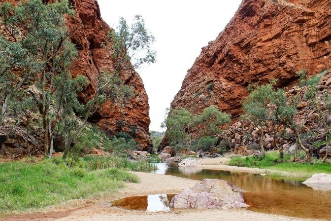 Simpson's Gap, Larapinta Drive, Northern Territory, Australia