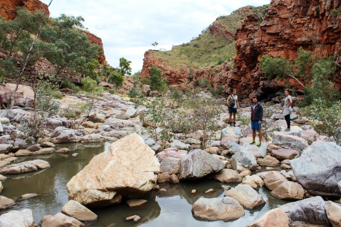 Finke River, Ormiston Gorge, Northern Territory, Australia