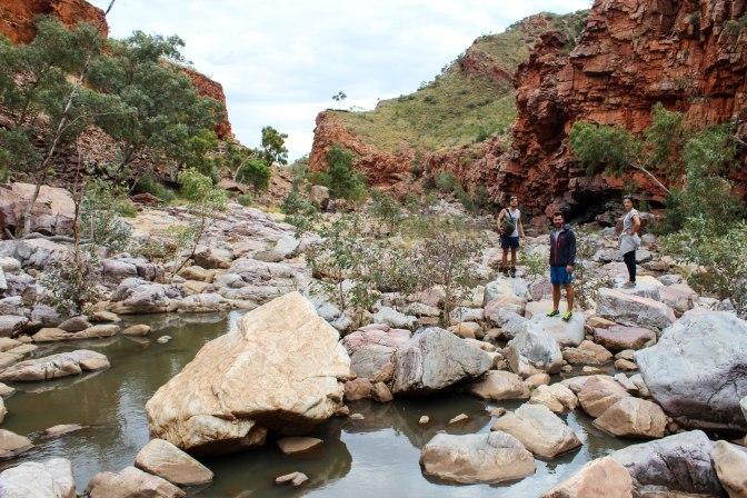 Finke River, Ormiston Gorge, Northern Territory, Australia