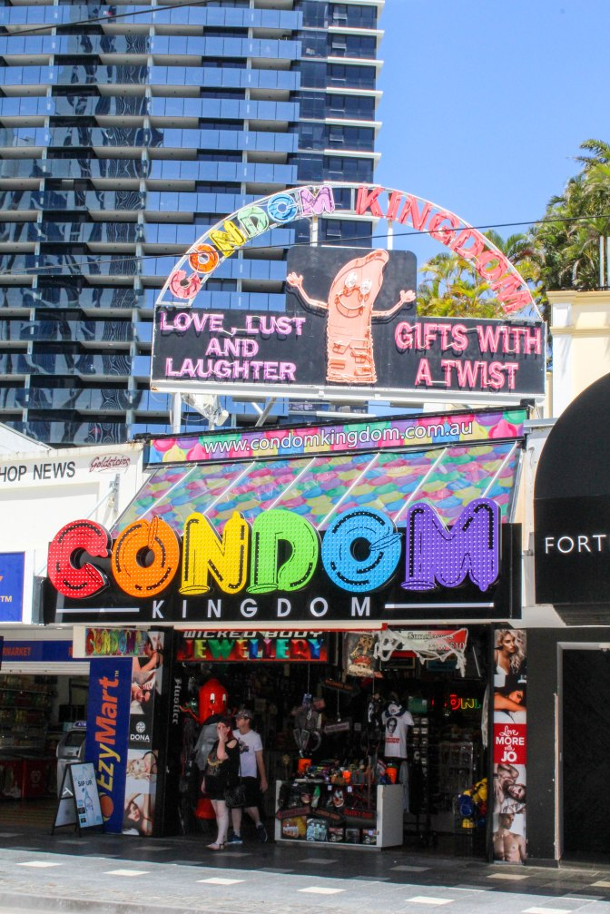 Condom Kingdom, Surfers Paradise, Queensland, Australia