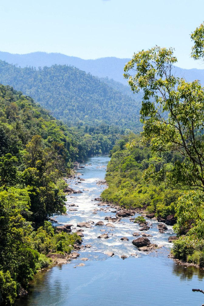 Tully River, Queensland, Australia