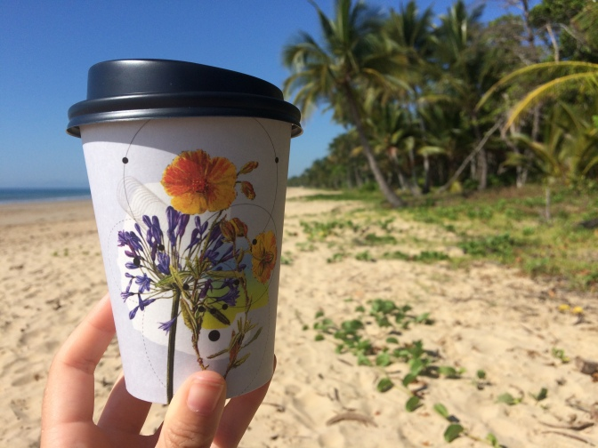 Mission Beach coffee, Queensland, Australia