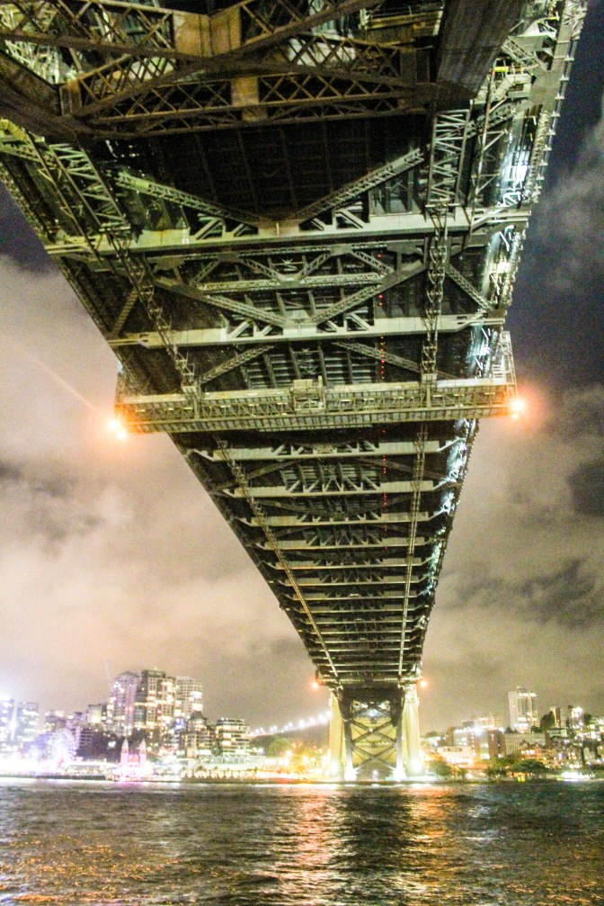 Underneath Sydney Harbour Bridge, New South Wales, Australia