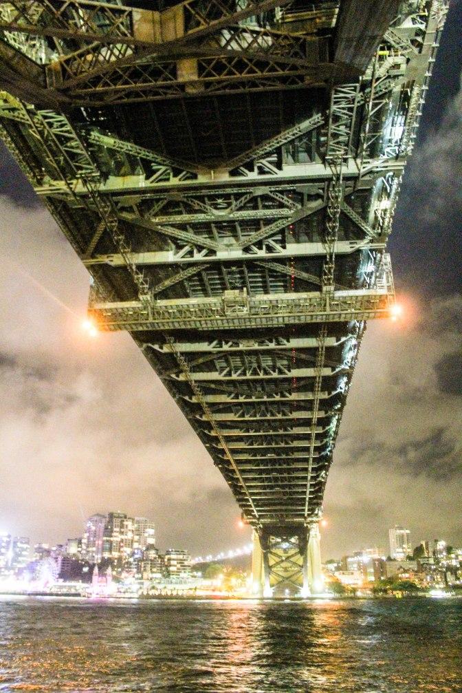 Underneath Sydney Harbour Bridge, New South Wales, Australia