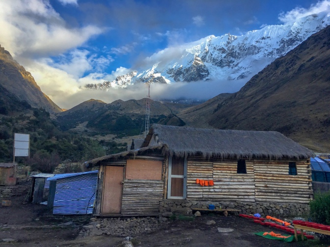 Hut at Soraypampa, Peru
