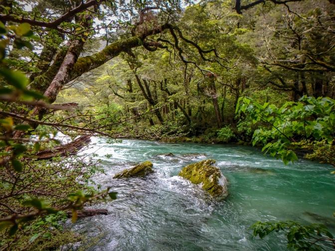 Routeburn Gorge, Routeburn Track, New Zealand