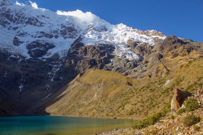 Lake Humantay, Salktantay Trek, Peru