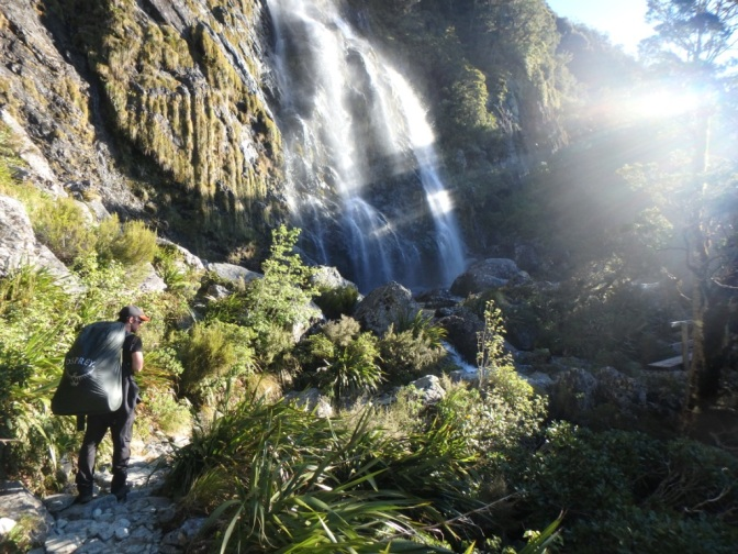 Earland Falls, Routeburn Track, New Zealand
