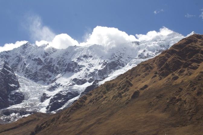Alpine sky, Salkantay Trek, Peru